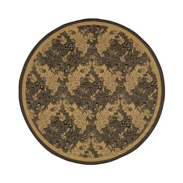 Safavieh CY6582-46 Courtyard Indoor/Outdoor Area Rug, Black,