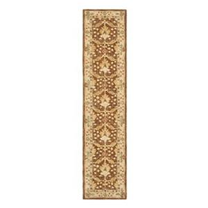 Safavieh Anatolia 27-in. Brown/Cream Runner
