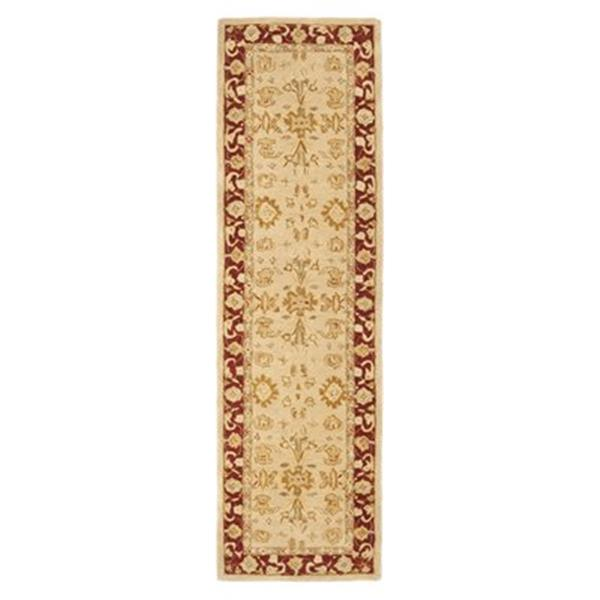 Safavieh Anatolia 27-in. Ivory/Red Runner