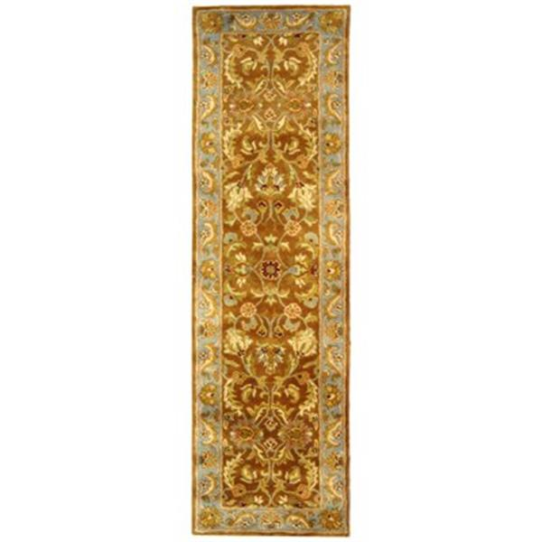 Safavieh Heritage 27-in. Brown/Blue Runner