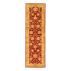 Safavieh Heritage 27-in. Red/Gold Runner