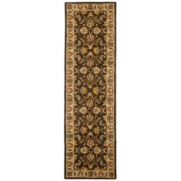 Safavieh Heritage 27-in. Brown/Ivory Runner