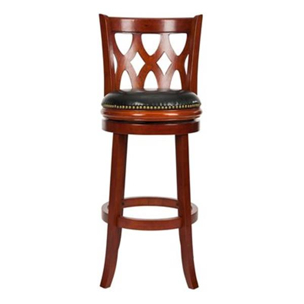 Safavieh Lancaster 29-in Light Cherry Bar Stool
