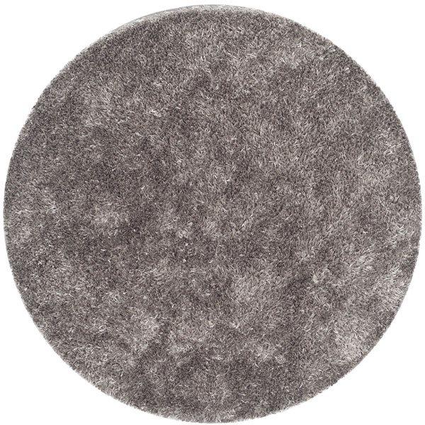 Safavieh SG531-8080-5R Paris Shag Area Rug, Grey,SG531-8080-