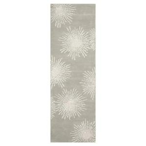 Safavieh Soho 30-in Grey And Ivory Runner