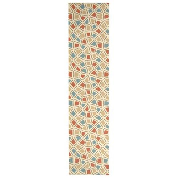 Safavieh Newport Red and Blue Area Rug,NPT426A-210