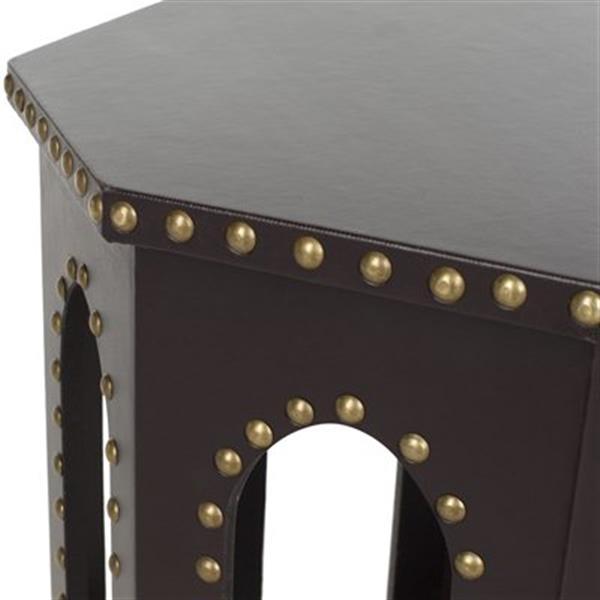 Safavieh Nara 22-in Charcoal Table Stool
