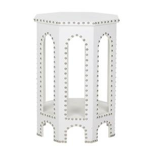 Safavieh Nara 22-in White Table Stool