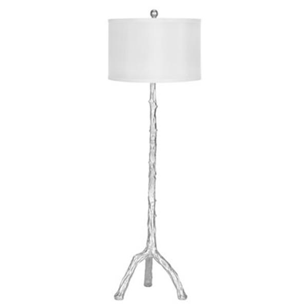 Safavieh 57.0-in Silver Branch Floor Lamp