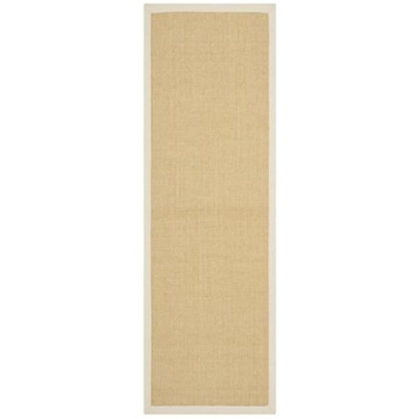 Safavieh 30-in Natural Fiber Maize/Wheat Runner