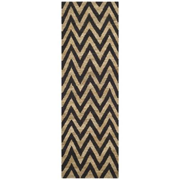 Safavieh Organica Black and Natural Area Rug,ORG515A-28