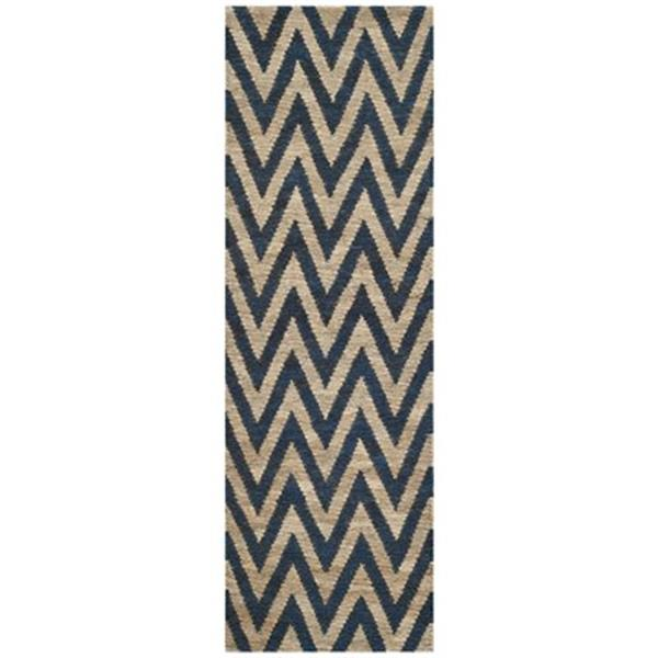 Safavieh ORG515B Organica  Area Rug, Blue / Natural,ORG515B-
