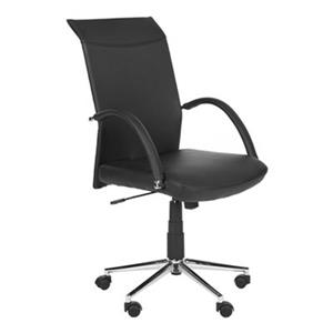 Safavieh 45.1-in Black Dejana Desk Chair