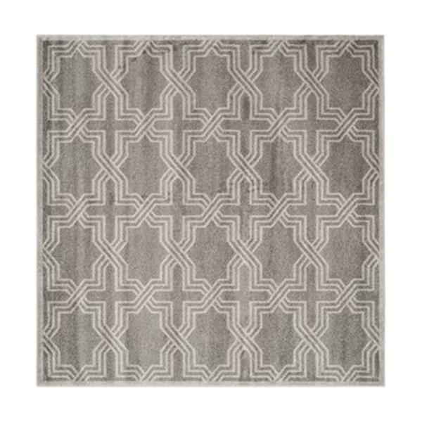Safavieh Amherst 7 ft x7 ft Grey and Light Grey Area Rug