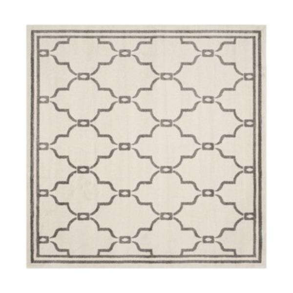 Safavieh Amherst 7 ft x 7 ft Ivory and Grey Area Rug
