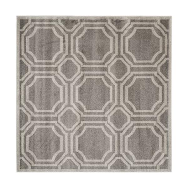 Safavieh Amherst 7 ft x 7 ft Grey and Light Grey Area Rug