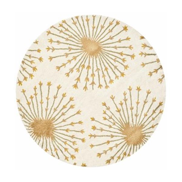 Safavieh BEL123A Bella Beige and Gold Area Rug,BEL123A-5R