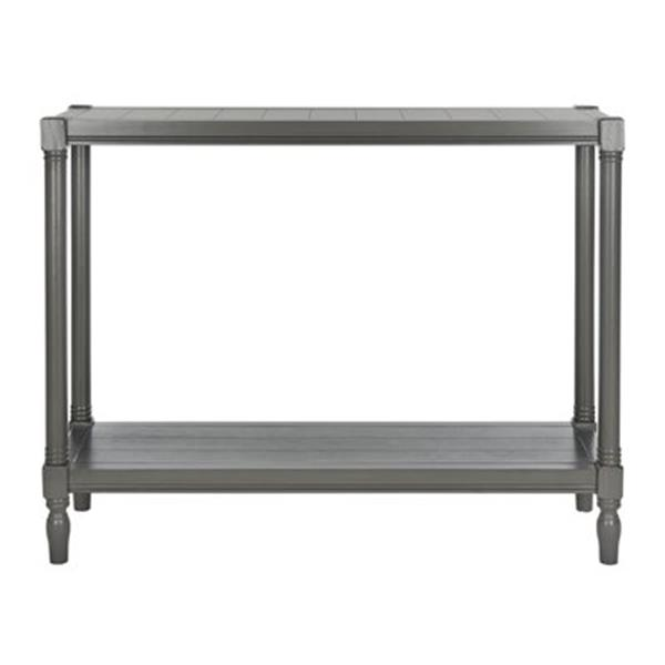 Safavieh American Home Bela Warm Grey Pine Wood Rectangular Console Table