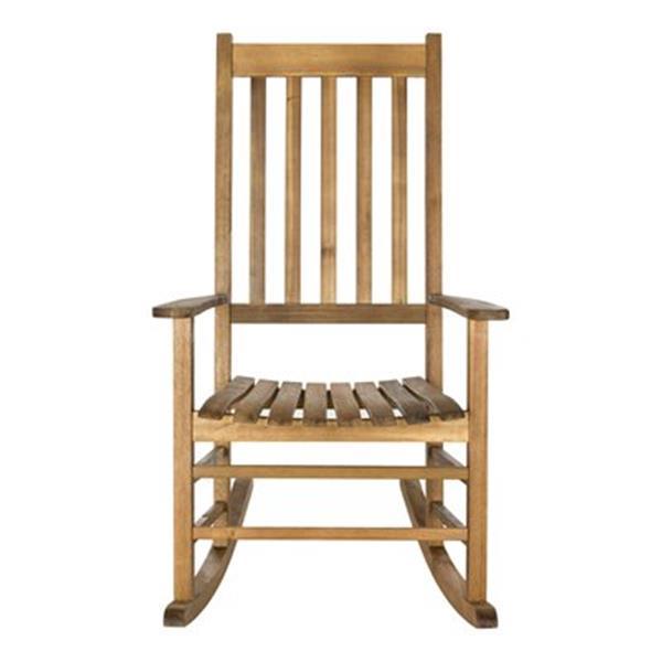 Safavieh 40.6-in x 26-in Teak-look Shasta Rocking Chair