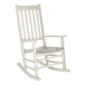 Safavieh 40.6-in x 26-in White Wash Shasta Rocking Chair