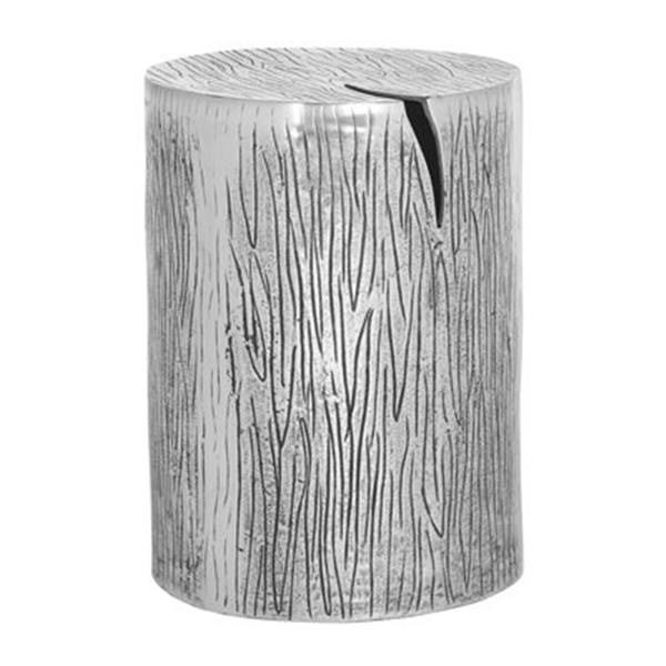 Safavieh Fox 18-in Silver Forrest Meta Table Stool