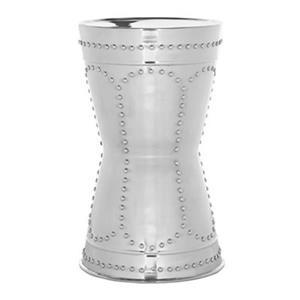 Safavieh Fox 23.6-in Silver Sedona Metal Table Stool