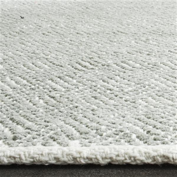 Safavieh BOS680E Boston Cotton Grey Area Rug,BOS680E-5