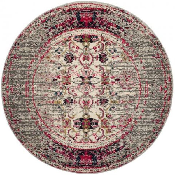 Safavieh Monaco Grey and Ivory Area Rug,MNC209T-7R