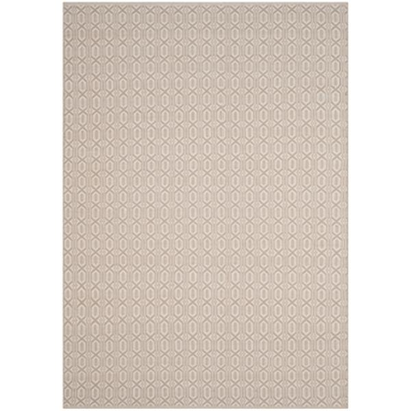 Safavieh Montauk Flat Weave Ivory and Grey Area Rug,MTK333A-