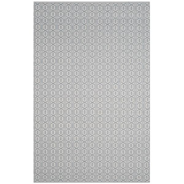 Safavieh Montauk Flat Weave Ivory and Blue Area Rug,MTK333L-