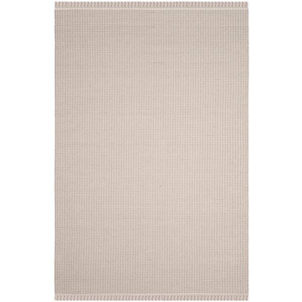 Safavieh Montauk Flat Weave Ivory and Grey Area Rug,MTK340A-