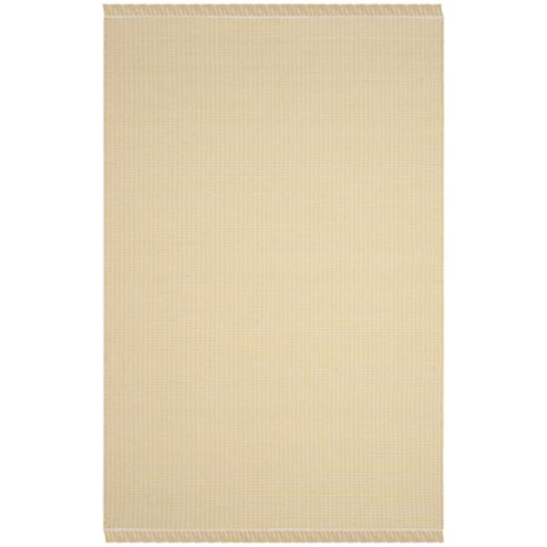 Safavieh Montauk Flat Weave Ivory and Yellow Area Rug,MTK340