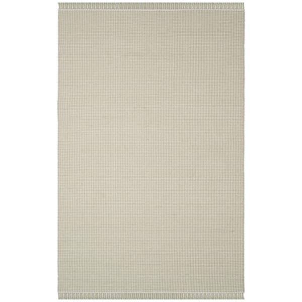 Safavieh Montauk Flat Weave Ivory and Green Area Rug,MTK340G