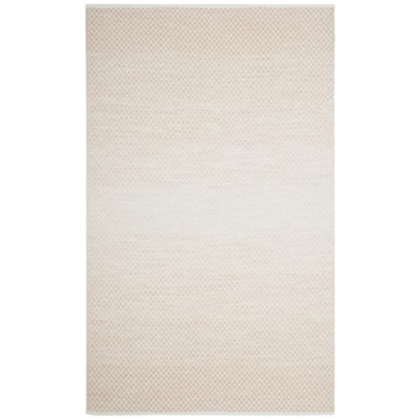 Safavieh Montauk Flat Weave Beige and Ivory Area Rug,MTK601R