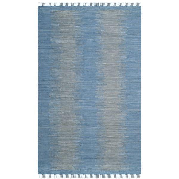 Safavieh Montauk Flat Weave Light Blue Area Rug,MTK718B-6