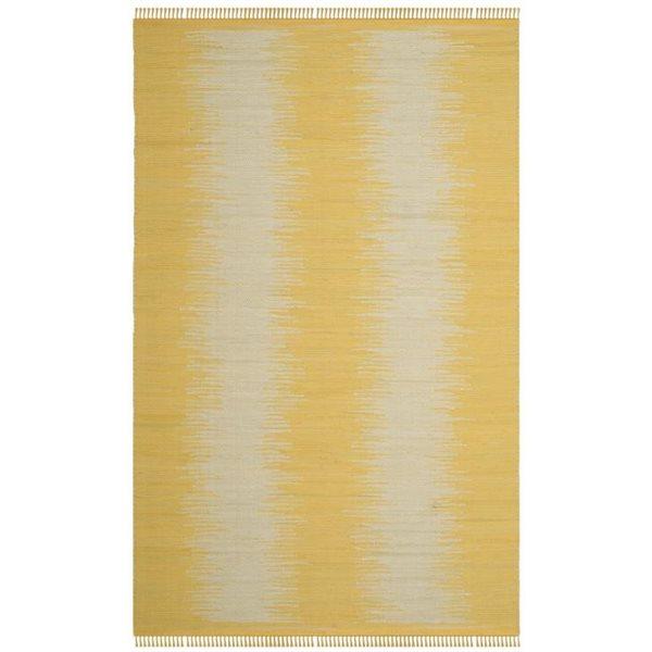 Safavieh Montauk Flat Weave Gold Area Rug,MTK718K-6