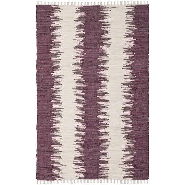 Safavieh Montauk Flat Weave Purple Area Rug,MTK751D-6