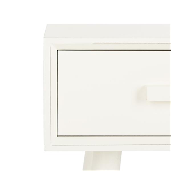 Safavieh Dean White 2-Drawer Vanity Writing Desk