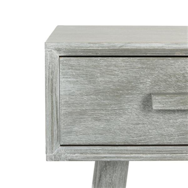 Safavieh Dean Gray 2-Drawer Vanity Writing Desk