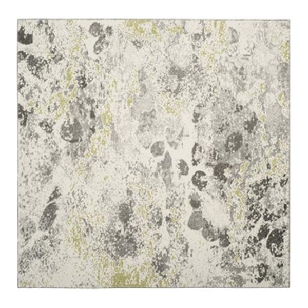 Safavieh Watercolor Ivory and Grey Indoor Area Rug,WTC696A-7