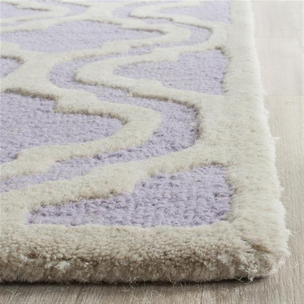 Safavieh Cambridge Lavender and Ivory Area Rug,CAM132C-5