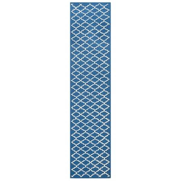 Safavieh Newport 27-in. Indigo/Ivory Runner