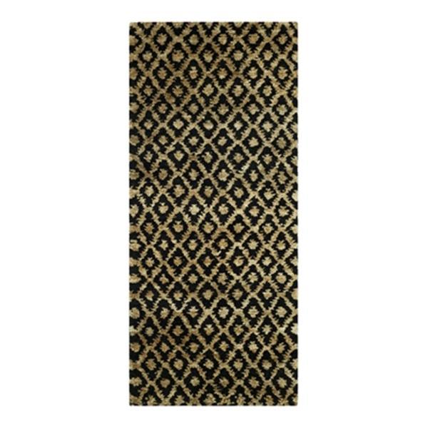 Safavieh Bohemian Black and Gold Area Rug,BOH315A-28