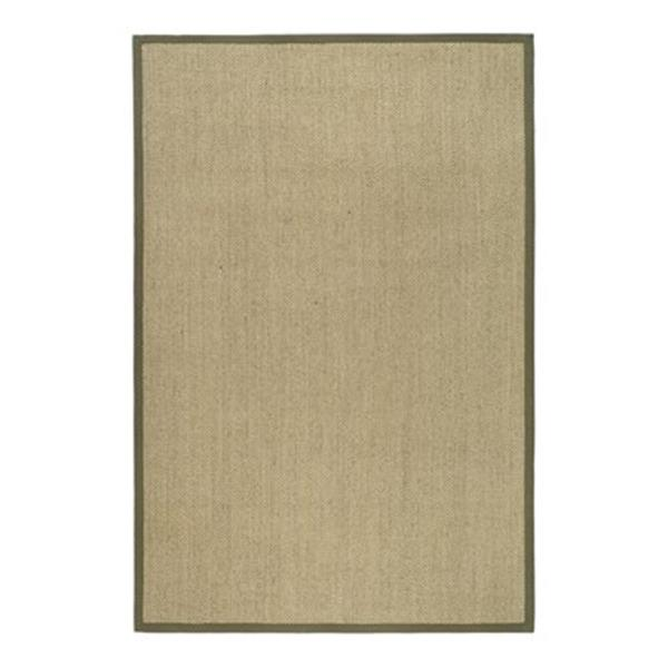 Safavieh Natural Fiber Natural and Green Area Rug,NF443C-5