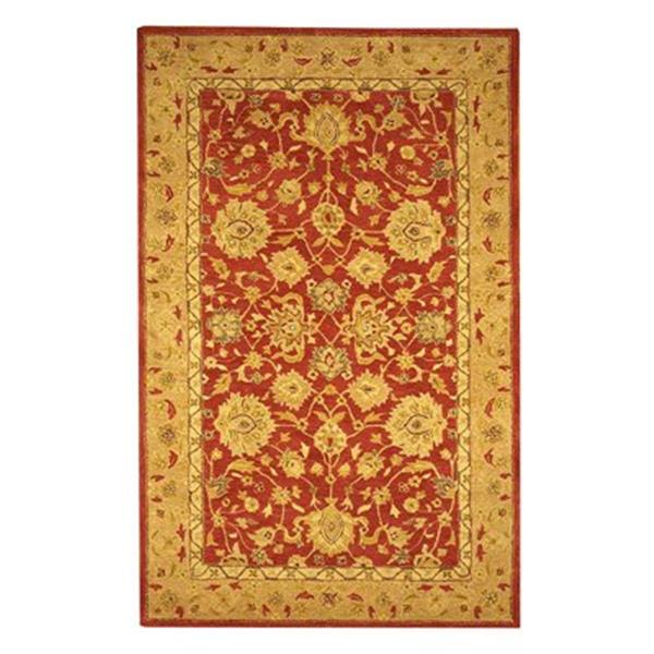 Safavieh AN522A Anatolia Area Rug, Red,AN522A-212
