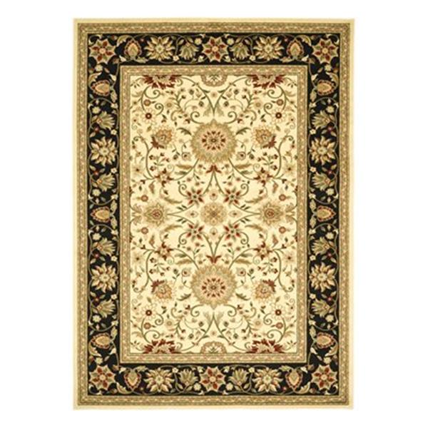Safavieh Lyndhurst Ivory and Black Area Rug,LNH212B-6