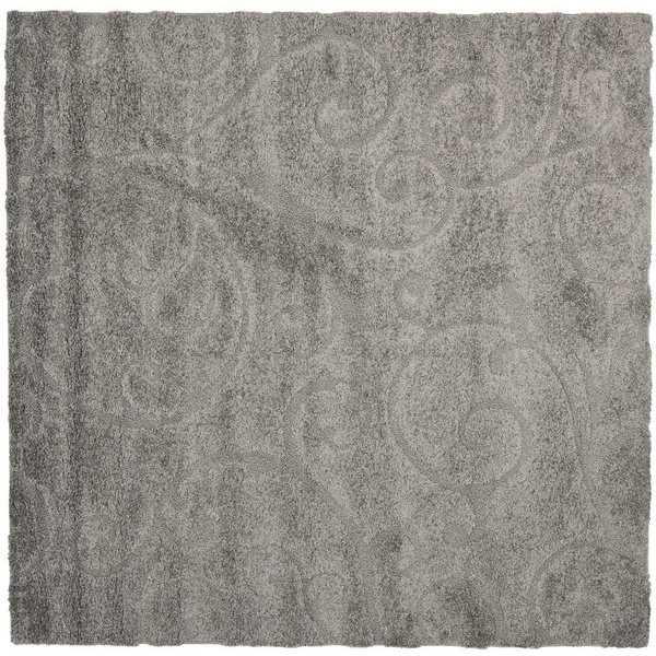 Safavieh SG455-8013 Florida Shag Area Rug, Grey,SG455-8013-7