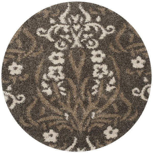 Safavieh Shag Smoke and Beige Area Rug,SG457-7913-7R