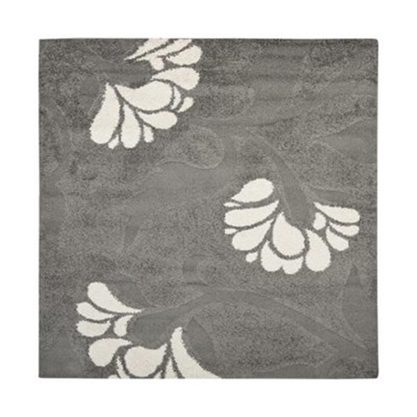Safavieh Florida Shag Grey Area Rug,SG459-8013-7SQ