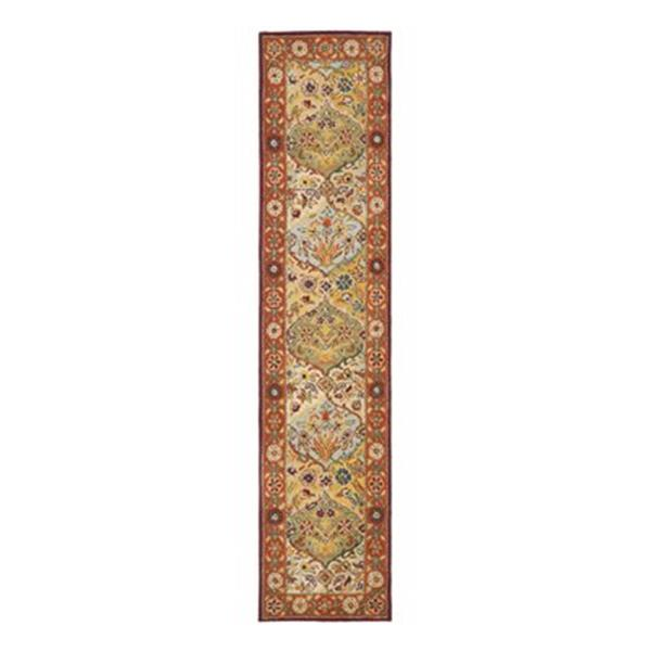 Safavieh Heritage 27-in. Multi/Red Runner